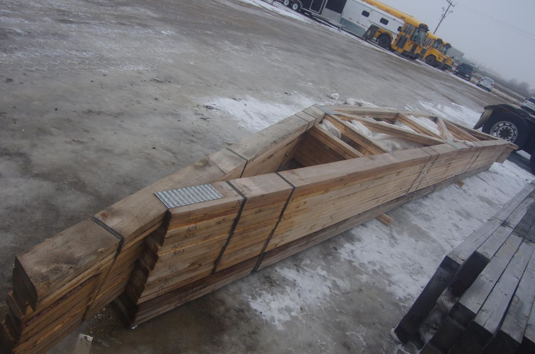 Mcdougall auctions for Roof trusses for sale