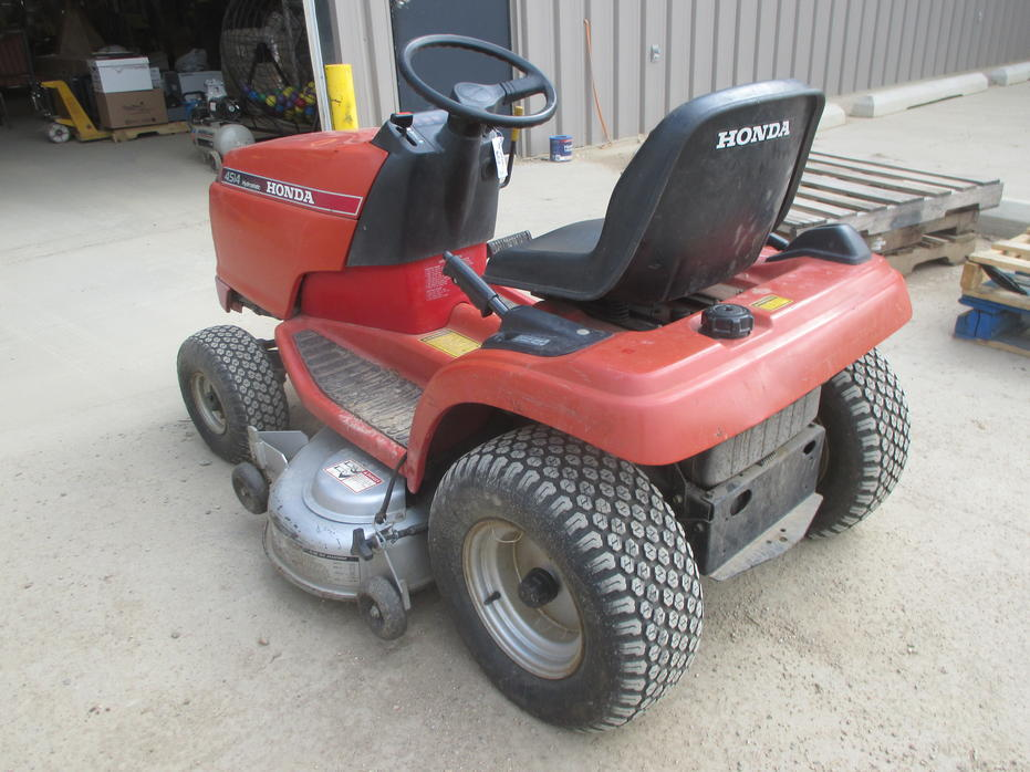 honda 4514 hydrostatic lawn tractor manual